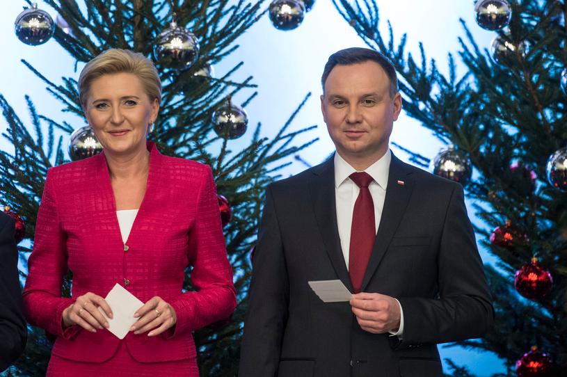 Andrzej Duda i Agata Kornhauser-Duda /Jacek Domiński /East News