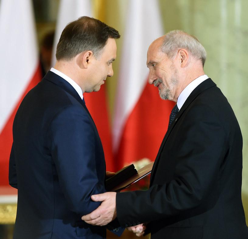 Andrzej Duda i Antoni Macierewicz /AFP