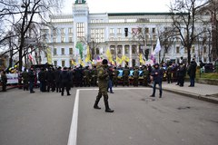 Andrzej Duda pojechał do Kijowa a tam… protest frankowiczów