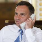 Andrzej Duda rozmawiał telefonicznie z Emmanuelem Macronem