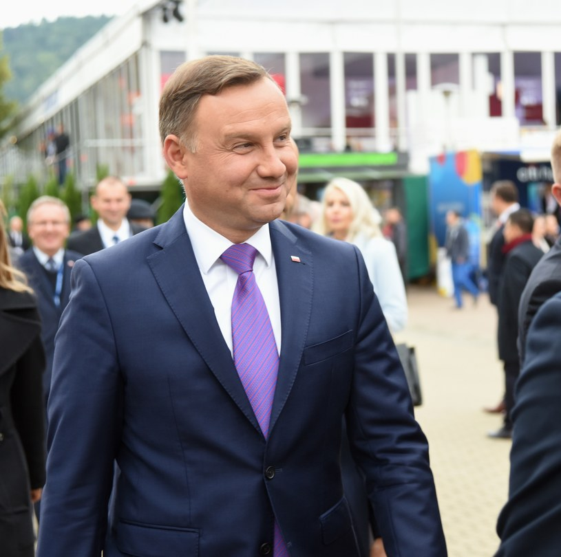 Andrzej Duda w Krynicy /Artur Barbarowski /East News