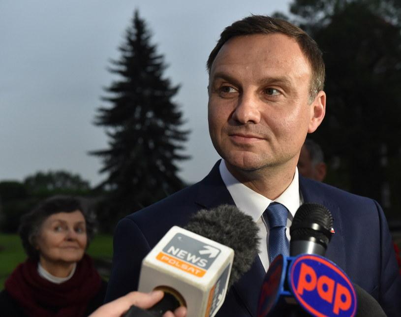 Andrzej Duda w poniedziałek pojawił się na Wawelu /Jacek Bednarczyk /East News