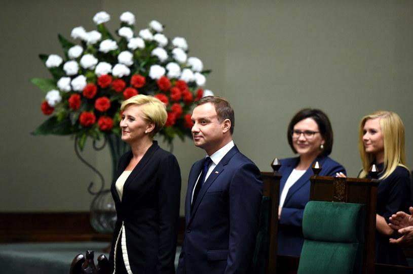 Andrzej Duda złożył przysięgę prezydencką /Radek Pietruszka /PAP
