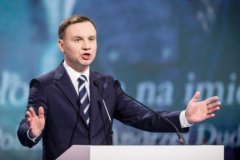 Andrzej Duda zostanie zaprzysiężony 6 sierpnia /AFP