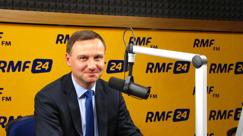 Andrzej Duda /RMF