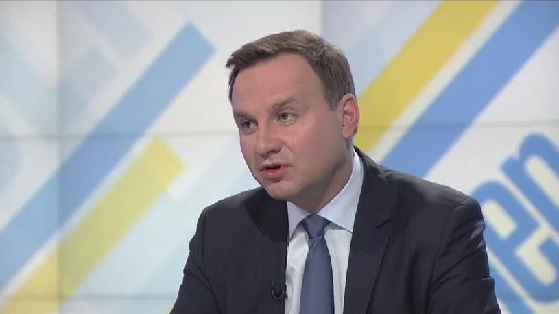 Andrzej Duda /TVN24/x-news