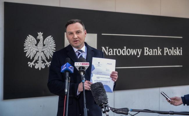 Andrzej Duda /PAP/Jakub Kamiński  /PAP