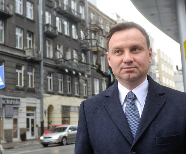 Andrzej Duda /Witold Rozbicki/REPORTER /East News