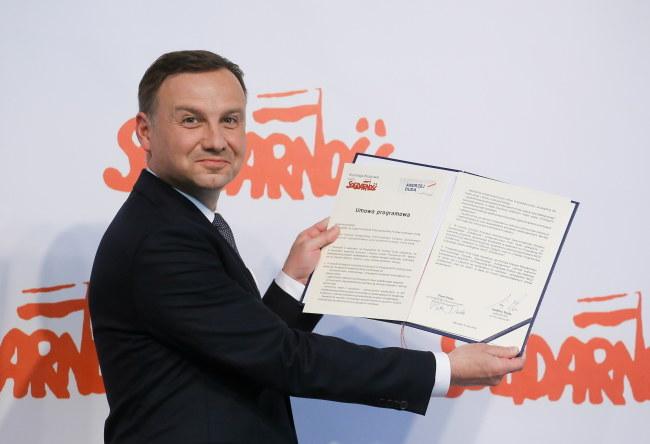 Andrzej Duda /PAP/Paweł Supernak /PAP