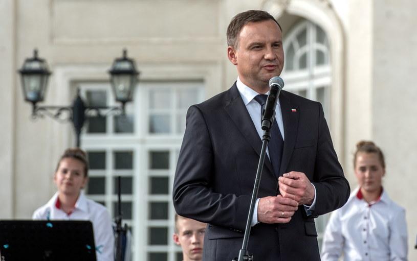 Andrzej Duda /Tomasz Koryszko /PAP