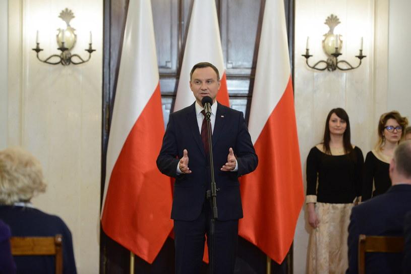 Andrzej Duda /Jakub Kamiński   /PAP