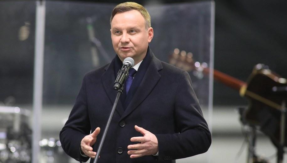 Andrzej Duda /Marek Klinski /PAP