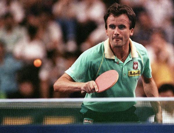 Andrzej Grubba w 1991 roku /AFP