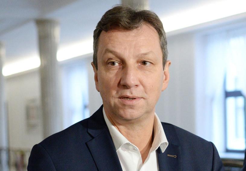 Andrzej Halicki: Będziemy reagować adekwatnie do tego, w jaki sposób zachowuje się marszałek /Jacek Turczyk /PAP