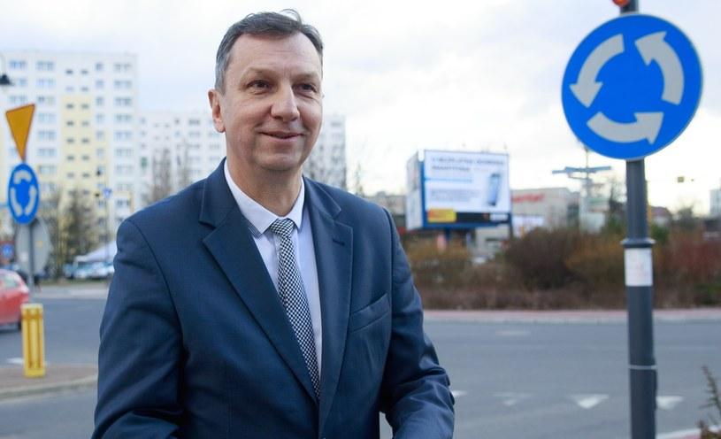 Andrzej Halicki w Legionowie /Andrzej Iwańczuk /Reporter