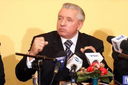 Andrzej Lepper zawsze był waleczny/fot. P. Gryń /Agencja SE/East News
