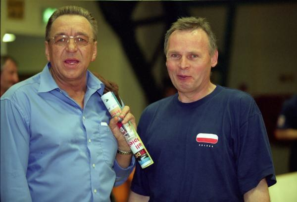 Andrzej Niemczyk i Zbigniew Krzyżanowski. Fot. Rafał Bała /Agencja Przegląd Sportowy