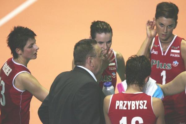 Andrzej Niemczyk jest zadowolony z występu kadry w Grand Prix /www.fivb.org