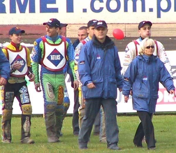 Andrzej Rusko (w środku) i jego jeźdzcy chcą walczyć o najwyższa stawkę /INTERIA.PL