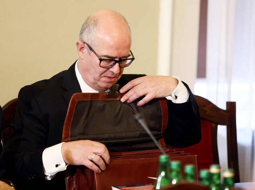 Andrzej Seremet podczas posiedzenia Komisji Sprawiedliwości i Praw Człowieka /Tomasz Gzell /PAP