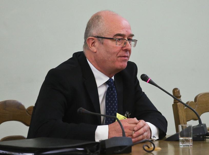 Andrzej Seremet zeznaje przed komisją śledczą ds. Amber Gold /Rafał Guz /PAP