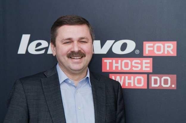 Andrzej Sowiński, Country General Manager Lenovo Polska /materiały prasowe
