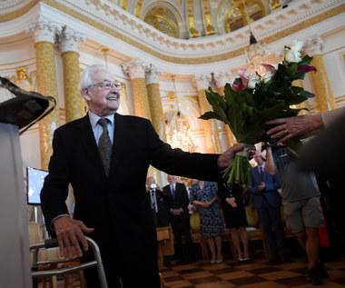 Andrzej Wajda honorowym obywatelem Warszawy