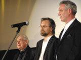 Andrzej Wajda, Jan A.P. Kaczmarek, Waldemar Dąbrowski /INTERIA.PL