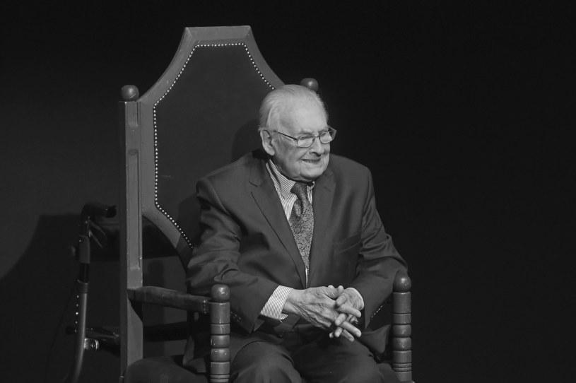 Andrzej Wajda podczas Festiwalu Filmowego w Gdyni 22 września 2016r. /Kurnikowski /AKPA