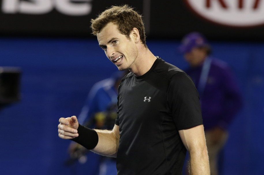 Andy Murray /BARBARA WALTON /PAP/EPA