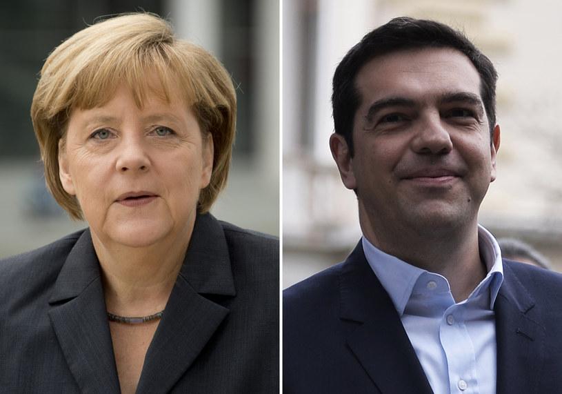 Angela Merkel i Aleksis Cipras /AFP