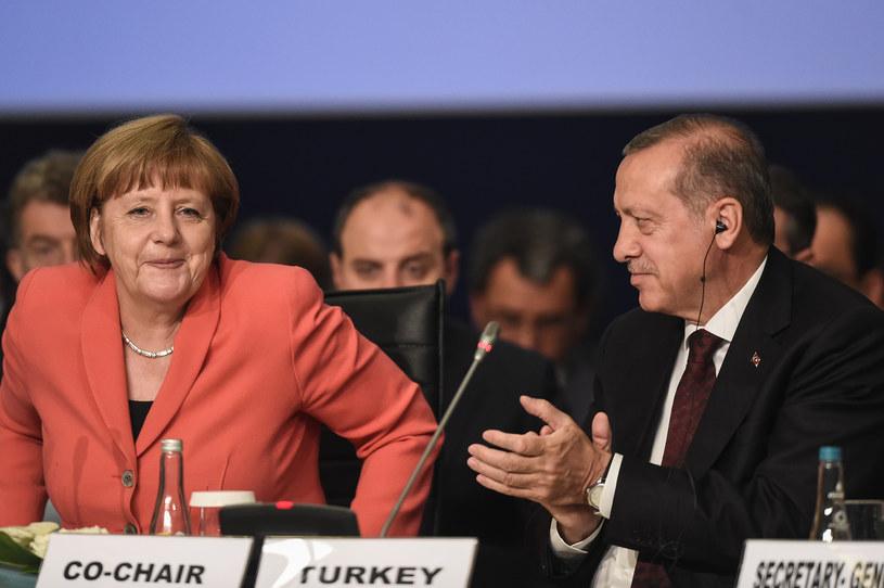 Angela Merkel i Recep Tayyip Erdogan /AFP