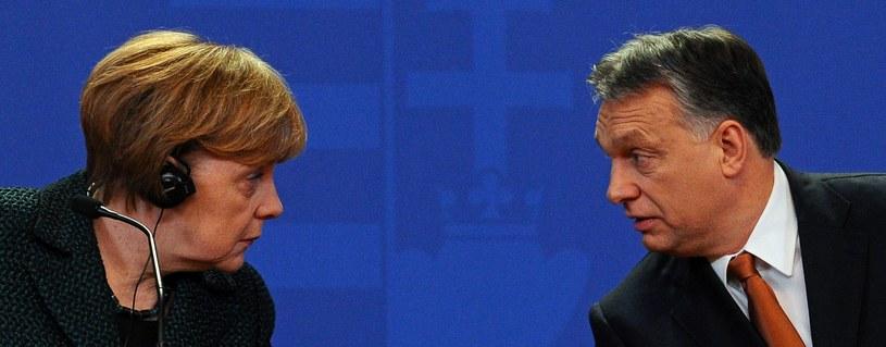 Angela Merkel i Viktor Orban /AFP