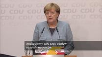 Angela Merkel: Odzyskamy naszych wyborców