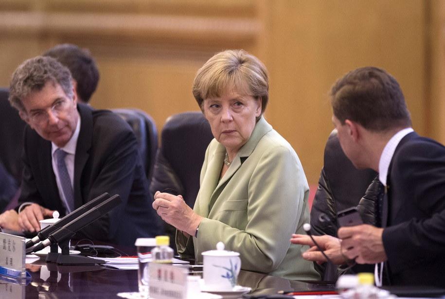 Angela Merkel /Andy Wong / POOL /PAP/EPA