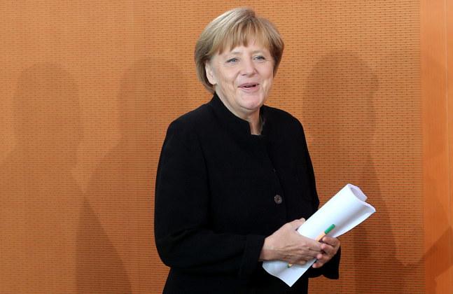 Angela Merkel /PAP/EPA/WOLFGANG KUMM   /PAP/EPA