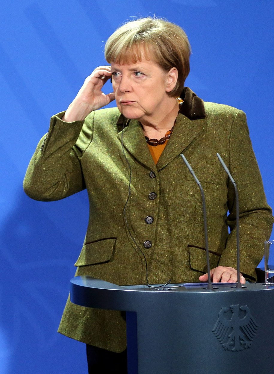 Angela Merkel /WOLFGANG KUMM /PAP/EPA