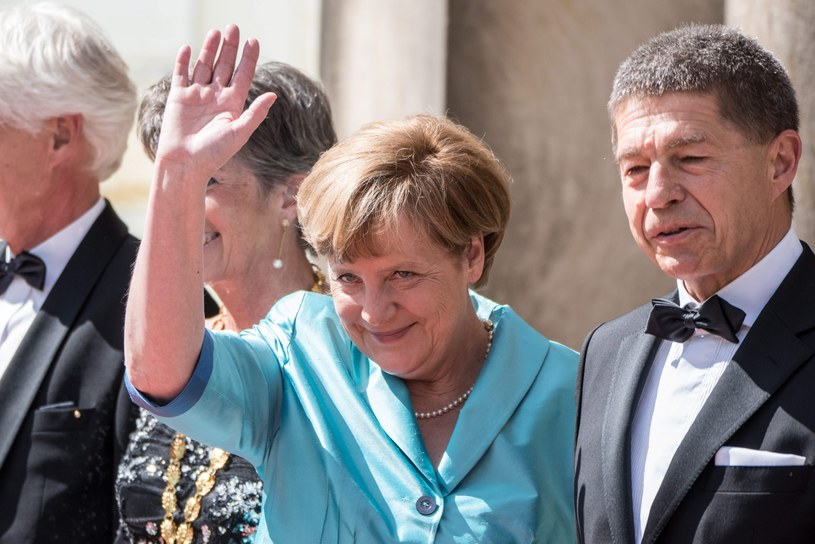 Angela Merkel /Nicolas Armer    /PAP/EPA