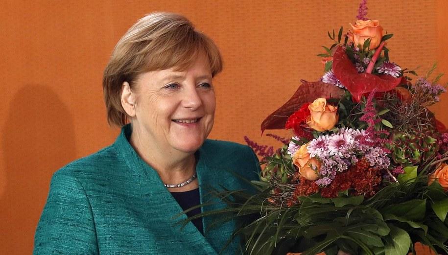 Angela Merkel /Felipe Trueba /PAP/EPA
