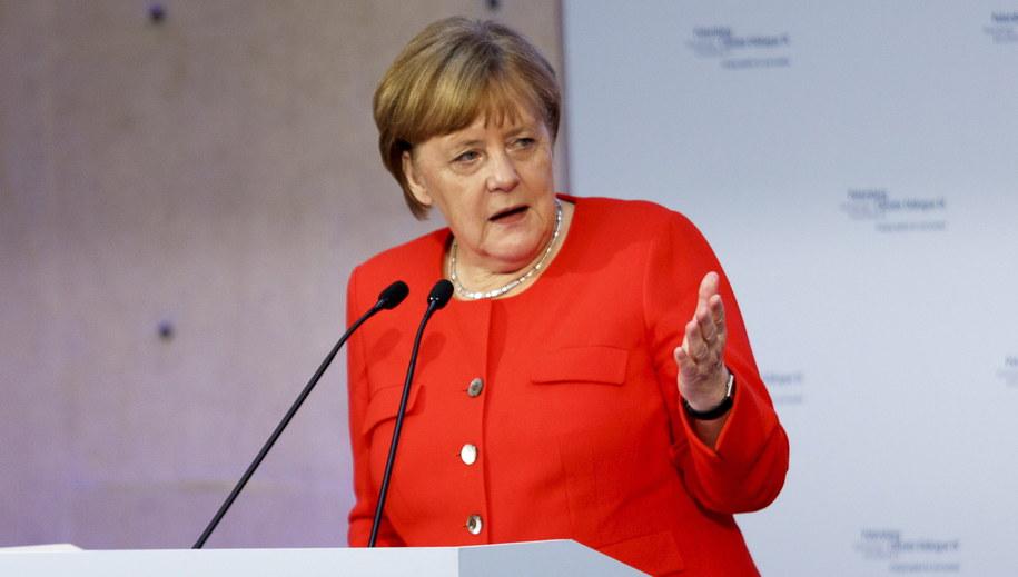 Angela Merkel /Carsten Koall /PAP/EPA