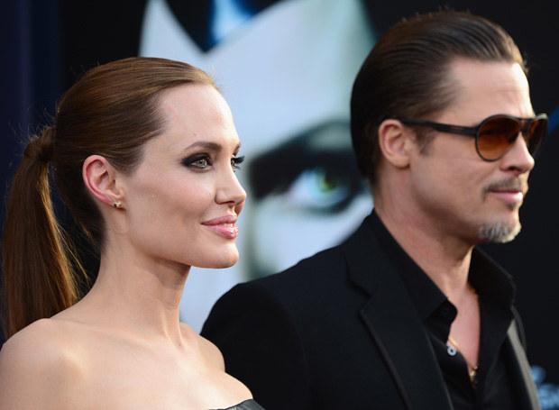 Angelina Jolie i Brad Pitt - małżeństwo idealne? /Getty Images