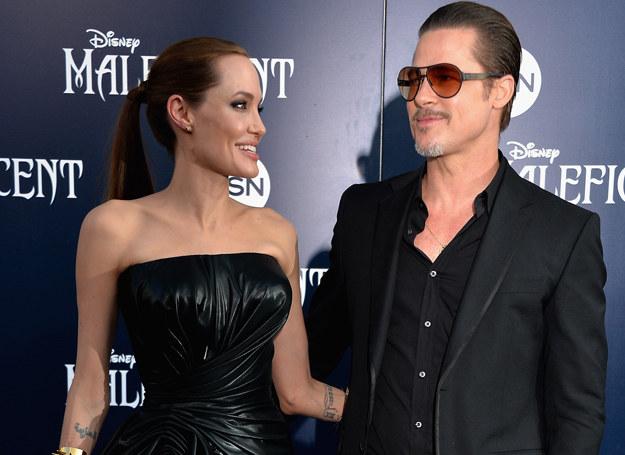Angelina Jolie i Brad Pitt pobrali się w sierpniu tego roku /Getty Images