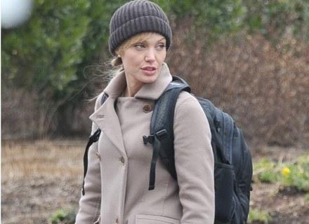 "Angelina Jolie na planie filmu ""Salt"" /Getty Images/Flash Press Media"