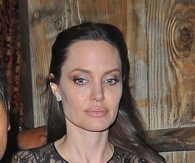 Angelina Jolie o problemie przemocy seksualnej