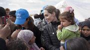 Angelina Jolie odwiedza syryjskich uchodźców w Libii