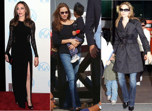 Angelina Jolie w codziennym życiu stawia na wygodę  /Getty Images/Flash Press Media