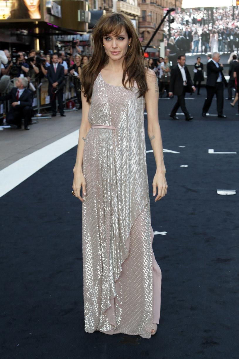 Angelina Jolie w Londynie  /Getty Images/Flash Press Media