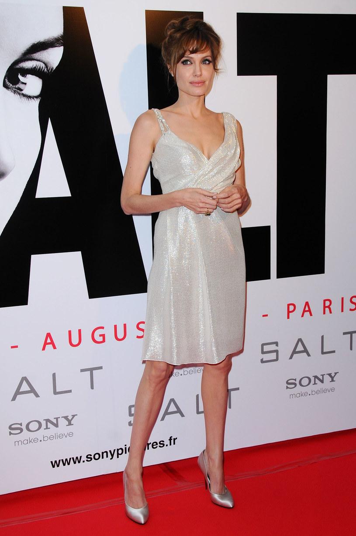 Angelina Jolie w Paryżu  /Getty Images/Flash Press Media