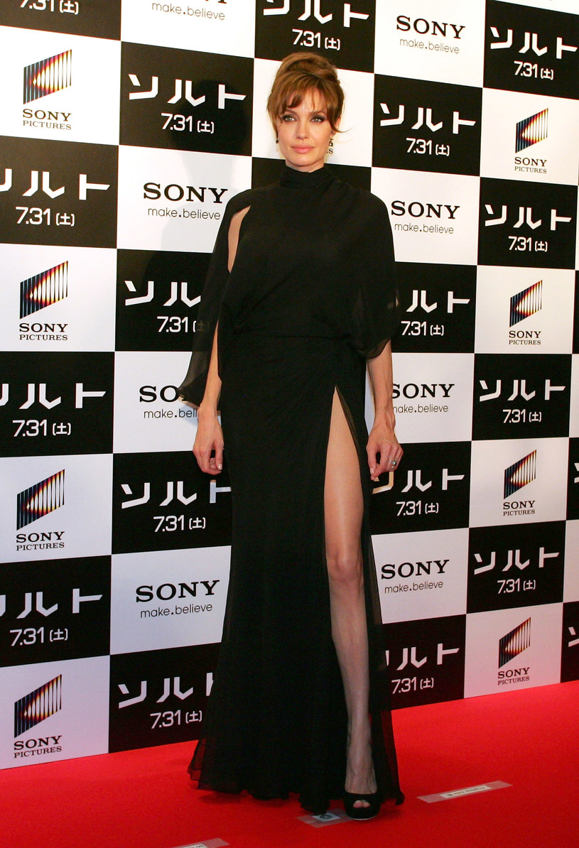 Angelina Jolie w Tokio  /Getty Images/Flash Press Media