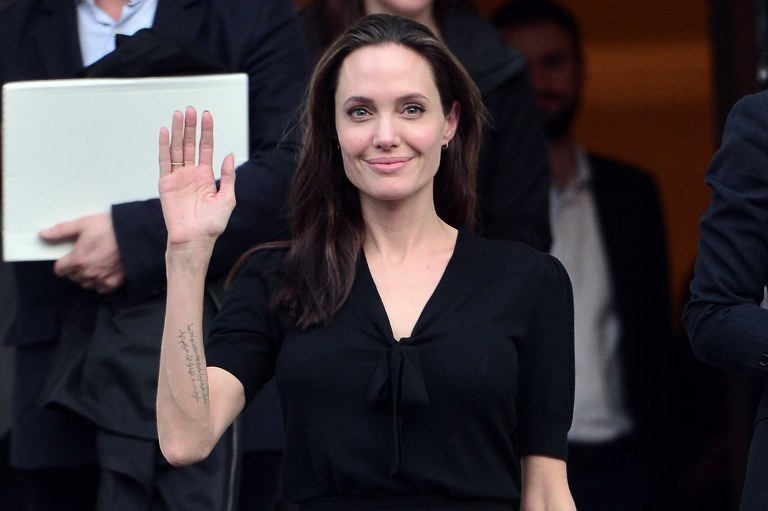 Angelina Jolie /LOUISA GOULIAMAKI / AFP /AFP